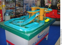 Raft-ride Zamperla, 2 tours de lift.