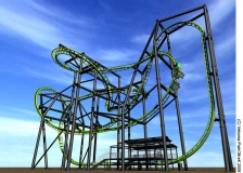 Nouveau modèle flying coaster Stingray.