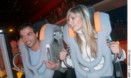 Kamel Ouali et Miss France, on-ride !
